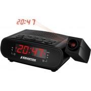 Rádiós ébresztőóra, projektoros, idő kivetítővel SM 970