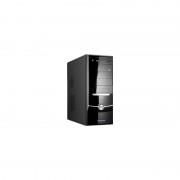 Carcasa fara sursa Omnia Pro , Middle Tower, neagra,2 x USB 2.0