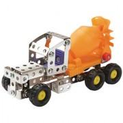 Magideal Metal Concrete Mixer DIY Toy Assembly Model Kit Construction Truck E