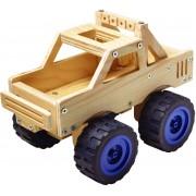 Red Toolbox Houtwerk Kit: Monster Truck
