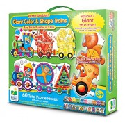 The Learning Journey Puzzle Doubles, Giant Colors and Shapes Train Floor Puzzles by The Learning Journey