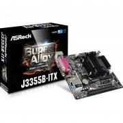 Carte mère ASROCK J3355B Mini ITX avec Processeur Intel Celeron J3355 - 2 x SATA 6 Gb/s - USB 3.0 - 1x PCI-Express 2.0 16x