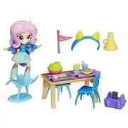 My Little Pony Equestria Girls Minis Fluttershy School Cafeteria Set