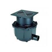 Sifon Kessel 851150D, Floor drain diametru 160 cl. D, PE
