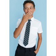Next Short Sleeve Easy To Iron Shirts Two Pack (3-16yrs) - White