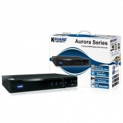 KGUARD KG-AR421 :: 4-канален мрежов DVR рекордер, Aurora, H.264, HDMI/VGA/BNC изходи, 4-канала звук