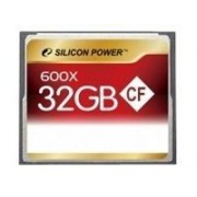 SILICON POWER - Carte mémoire flash - 32 Go - 600x - CompactFlash