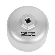 DEDC BMW and Volvo Oil Filter Wrench for 86mm Cartridge Style Filter Housing Caps with 16 Flutes