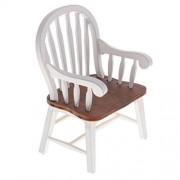 MagiDeal Mini Living Room Furniture Armchair for 1/12th Dollhouse Miniatures Dolls Family Play Room Decor ACCS
