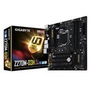 Gigabyte LGA1151 Intel Z270 2 voies SLI carte mère ATX DDR4 (Ga-z270 X -UD5) GA-Z270M-D3H