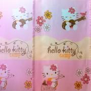 Hello Kitty mintás, nyomott voile függöny anyag - 300