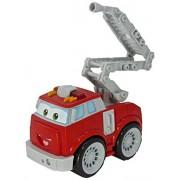 Chuck & Friends 92502 - camión de bomberos con escalera plegable Boomer y luces