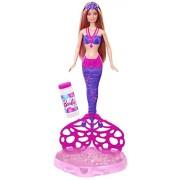 Barbie - Muñeca sirena burbujas mágicas (Mattel CFF49)