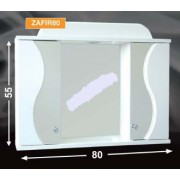 Guido Zafír 80 tükrös fürdőszobaszekrény