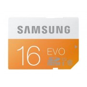 Samsung EVO MB-SP16D - Carte mémoire flash - 16 Go - UHS Class 1 / Class10 - SDHC UHS-I