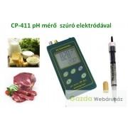 pH-mérő félkemény anyagok mérésére CP-411