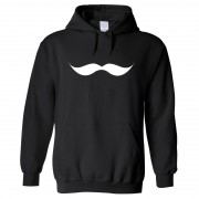 """Hoodie - Giant Moustache"""