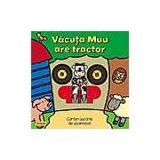 Vacuta Muu are tractor