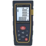 HOLDPEAK 5080B Digitális lézeres távolságmérő 0.03-80m memória területtérfogat háromszög pontosság 1mm.