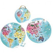 Our Blue Planet Round Double Sided Puzzle