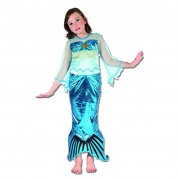 Girls Mermaid Costume - Ages 8-10