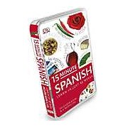 15-Minute Spanish. Learn in just two weeks. Includes book and 2 audio CDs