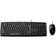 HP C2500 Wired Keyboard + Mouse (Combo) Black