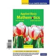 Applied Basic Mathematics by William J Clark