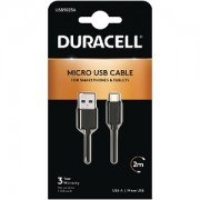 Duracell Micro USB Sync & Charge Cable 2M (USB5023A)