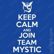 T-shirt Keep Calm Join Mystic