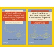 Infrared and Raman Spectra of Inorganic and Coordination Compounds by Kazuo Nakamoto
