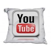 Almofada Decorativa YouTube