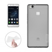 NILLKIN Nature TPU Case Huawei P9 Lite Stylish 0.6mm Ultrathin Clear Color Soft Protective Case Back Cover(Grey)