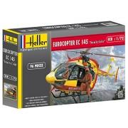 Heller 80375 - Modellino da costruire, Eurocopter Ec-145 sicurezza civile, scala 1:72 [Importato da Francia]