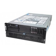 Server HP Proliant DL580 G5 2 x Intel® Xeon® Quad Core X7350 2.93Ghz 8GB 2X146GB SAS DVD