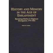 History and Memory in the Age of Enslavement by Pier M. Larson