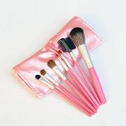 Set 7 pensule roz pentru make-up