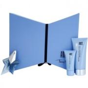 Mugler Angel coffret XVI. Eau de Parfum recarregável 25 ml + leite corporal 100 ml + gel de duche 30 ml