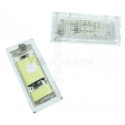 Pack LED plaque immatriculation BMW Serie 3 E46 Coupe, M3 04-06