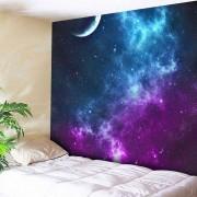 rosegal Night Sky Printed Tapestry Microfiber Wall Hanging