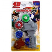 4D Metal masters Fury Beyblade Set
