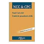 Noul Cod civil. Codul de procedura civila. Actualizat 26 septembrie 2012
