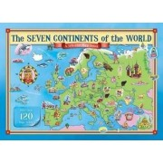 The Seven Continents of the World Lift the Flap Book by The Five Mile Press