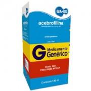 Acebrofilina 50mg/5ml Genérico Ems Xarope Com 120ml