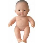 Papusa Bebelus asiatic fetita Miniland 21 cm