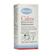 CALMS (Nerve Tension Sleeplessness) 100 Tablets