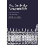 New Cambridge Paragraph Bible with Apocrypha KJ595:TA Black Calfskin by Blk Calfskin Le
