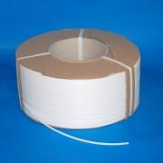 Pántszalag PP 8x0,5mm fehér,3.500 m/tek.