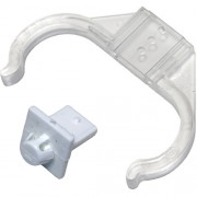 LH0330 Circle Push Fit Replacement Support Clip for 2G11 Base CFL