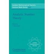 Analytic Number Theory by Yoichi Motohashi